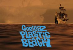 The Ghostly Pirate Ship - plastic-beach Photo Gorillaz Plastic Beach, Beach Photos, Pirates, Ship, Movie Posters, Image, Art, Wallpapers, Art Background