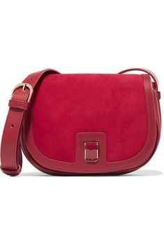 3a3b9847110b VANESSA SEWARD Dylan leather and suede shoulder bag.  vanessaseward  bags  shoulder  bags