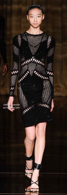 Different color for me...... Julien Macdonald Spring 2014 RTW