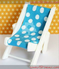 Beach Cakes, Baby Shower, Cake Decorating Tutorials, Cake Tutorial, Gum Paste, Toddler Bed, Chair, Furniture, Home Decor