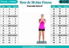 Anuncio      Zanca Lateral es una variante de las zancadas o lunges tradicional, permiten trabajar las caderas, los glúteos y los muslos...