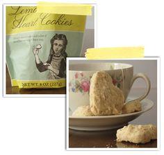 Lemon Heart Cookies!!