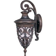 28.43-In H Dark Plum Bronze Outdoor Wall Light Lw2052