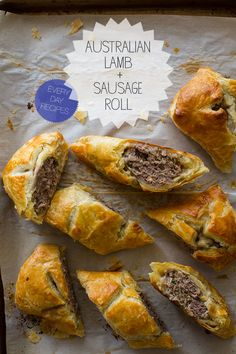 australian lamb and sausage roll from spoon fork bacon