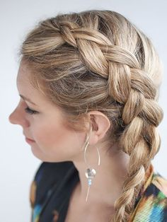 Braid hairstyles are most likely the least demanding and easiest style for long hair. You can accomplish it without anyone else-s input and very quick