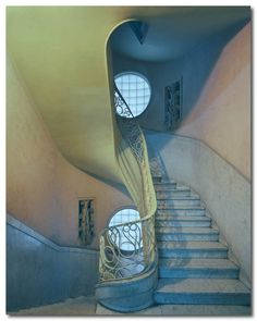 Who wouldn't look good coming down these stairs?