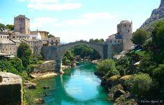Stari Most, Mostar, Bosnia and Herzegovina. Mostar Bosnia, Photo Blog, Photos Of The Week, Bosnia And Herzegovina, Europe, River, Outdoor, Outdoors, Outdoor Games