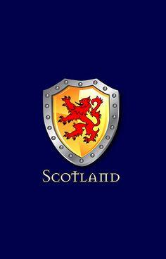 'Scotland Lion Rampant Shield' iPhone Case by Scotland Wallpaper, Scotland Tattoo, Castle Fraser, Scottish Symbols, Scottish Tattoos, Aberdeenshire Scotland, Scotland History, William Wallace, Scottish Thistle