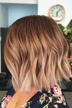 35 hottest short ombre hairstyles for 2019 - best ombre hair color ideas Best Ombre Hair, Brown Ombre Hair, Ombre Hair Color, Blonde Ombre, Ash Blonde, Ombre Bob Hair, Blonde Waves, Short Blonde, Ombre On Short Hair
