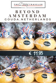 Day trips from Amsterdam. Explore Gouda, great culinary city just 90 minutes from Amsterdam by train.