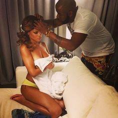 Yusef Styling Rihanna for #DWT