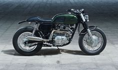 Garage Project Motorcycles : caferacerpasion:   100% Elegant. Kawasaki Estrella...