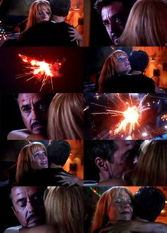The liberation of Tony Stark.  For his girlfriend.