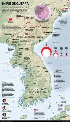 Corea del norte, en estado de guerra (886 × 1546)
