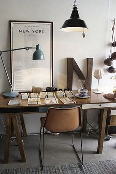 from http://abduzeedo.com/office-inspiration #desk #workspace
