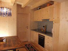 Cucina e perlinatura in abete