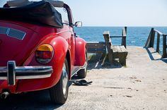 Super Beetle with sandals by GmanViz, via Flickr
