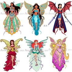 """""""Disney Harmonix"""" Collection so far! By Andrea Meier 🧚🏻♀️ Here are the first five characters and all of them are girls. Cute Disney Drawings, Disney Princess Drawings, Disney Princess Art, Art Drawings Sketches Simple, Motif Art Deco, All Disney Princesses, Disney Artwork, Disney Fantasy, Applis Photo"""