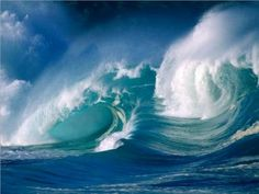 """Most people think of a """"wave"""" as meaning any vertical rise or swelling of the sea. Actually there are three types of waves.       When a wave first forms in wind-blown water, it is called a sea. When it has left the storm area and is traveling across calm water, it is a """"swell."""" When it reaches land and breaks, it is """"surf.""""       The height of a storm wave, or sea, depends on violence of the wind, length of time the storm lasts, and extent of open water over which the storm rages. Most seas..."""