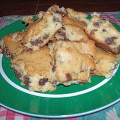Weight Watcher Blondies