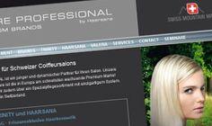 Relaunch der Website mit dem Redaxo Content-Management-System. Bei diesem Projekt übernahm visions.ch die Projektleitung, das Design und die Realisierung der Website.  www.haircare-professional.ch/