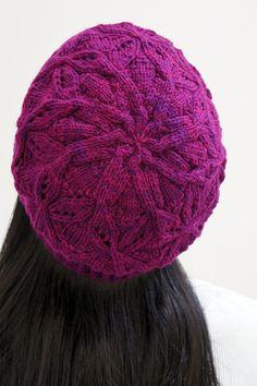 This looks like a great knit. Dragonflies Hat by Joji Locatelli.