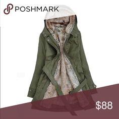 """Oliver green coat S-0 Length 29.9 """" Bust 37.0 """" Shoulder 15.7 """" Sleeve 23.1 """" M - US Size 2  Length 30.3 """" Bust 38.6 """" Shoulder 16.1 """" Sleeve 23.6 """" L - US Size 4  Length 30.7 """" Bust 40.2 """" Shoulder 16.6 """" Sleeve 24.1 """"  XL - US Size 6  Length 31.1 """" Bust 41.7 """" Shoulder 17.1 """" Sleeve 24.6 """"  2XL - US Size 8  Length 80 cm/ 31.5 """" Bust 110 cm/ 43.3 """" Shoulder 44.5 cm/ 17.5 """" Sleeve 63.6 cm/ 25.0 """"  3XL - US Size 10  Length 81 cm/ 31.9 """" Bust 114 cm/ 44.9 """" Shoulder 50.2 cm/ 19.8 """" Sleeve 64.8…"""