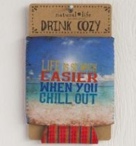 Chill Out Cozie. Item #CZ003 Available at Impulse Gifts 812.481.2880 We ship daily.   https://www.facebook.com/ImpulseJasper