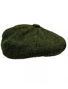 Donegal Tweed Mens Gatsby Cap - Green. Tweed MenGatsby HatFlat ... 57c4bda959281