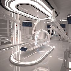 Sci Fi Laboratory Room Model is part of Futuristic interior - Sci Fi Laboratory Room HIGH POLY model of Futuristic Sci Fi Laboratory Interior Detailed and realistic Suitable for visualizations, advertising renders and other Design made by my self cermaka Spaceship Interior, Futuristic Interior, Futuristic Architecture, Interior Architecture, Data Architecture, Minimalist Architecture, Sci Fi Environment, Futuristic Technology, Technology Gadgets