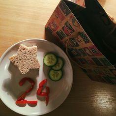 Thr birthday breakfast for my BF