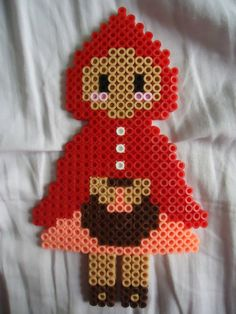 Little Red Riding Hood perler bead by *TsukiHimeChii on deviantART