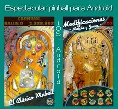Pinball De Luxe es Entretenimiento asegurado en teléfonos y tablets con iOS y Android. #juegos #apps