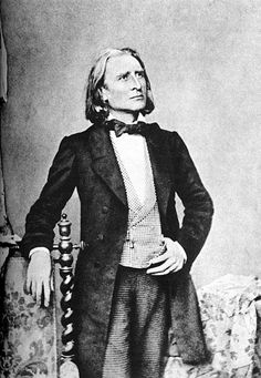 FRANZ LISZT (1811-1886) Hungarian-born composer and concert pianist. With his flamboyant personality and extraordinary keyboard tecnique, he was considered the finest pianist of the 19th century.
