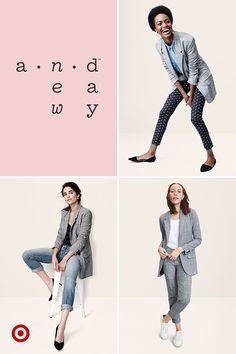 A checked boyfriend blazer is a fall staple you'll never stop wearing. Wear it with jeans and heels for a night out, with classic black pants or as a workwear set with white sneakers—to make office-appropriate just a tad more interesting.