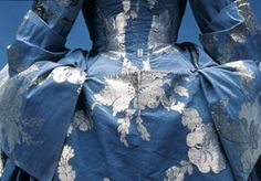 Mantua (detail), 1740-50s English, Collection of the Kyoto Costume Institute. Photo by Takeshi Hatakeyama, courtesy of the Kyoto Costume Inst...