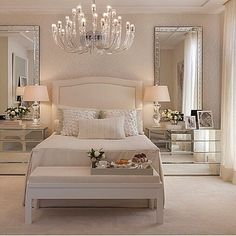Quarto maravilhoso #quarto #quartocasal #suitemaster #decoracao #ambientacao #inspiracao