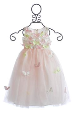 Biscotti Bella Butterfly Girls Dress Infant and Toddler $78.00