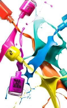 plaquinhas A Cor De Esmalte, Projects For Kids, Art Projects, Art Photography Women, Lisa S, Creative Colour, Color Schemes, Art Drawings, Manicure, Nail Polish