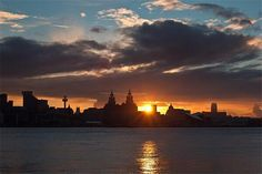 Sunrise, Liverpool, England by #onlyinLiverpool