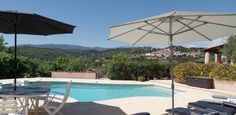 Villa Genets, Callian.  3 bedroom, 3 bathroom villa with incredible views to Callian Village