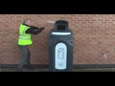 Glasdon UK | Product Testing | Nexus® City 240 outdoor recycling unit  http://www.youtube.com/watch?v=GLLdI9clhFo