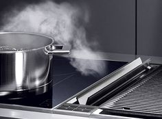 Gaggenau Downdraft Ventilation, we use Gaggenau a lot for our design plan...look into it for appliances. Mostly I use it for ranges (induction), and ovens.