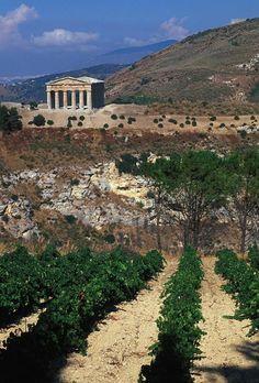 sicily Lots of ruins! Good food, great wine!