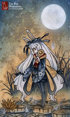 Miri and the Golden Flower by ~sarah-grey on deviantART