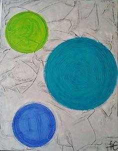 Three colourful circles/40 cm x 50 m
