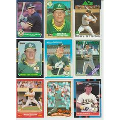 HUGE 65 + Different MICKEY TETTLETON cards lot RC A's Tiger Orioles 1986 - 1997 Listing in the 1990-1999,Lots,MLB,Baseball,Sports Cards,Sport Memorabilia & Cards Category on eBid United States | 147985988
