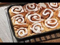 Roles de canela - Cinnamon rolls - Recetas de pan...subido por: Xochipitzahuatl Miztli