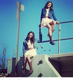 Sister picture idea(: but you could do it with your BFF too