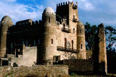 Fasilidas's Palace.~ Ethiopia,Africa